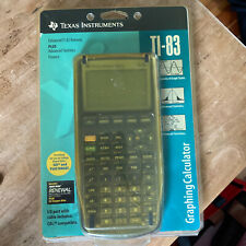 Texas Instruments TI-83 Graphing Calculator NEW