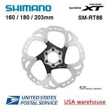 Shimano Deore XT Ice-Tech SM-RT86 6 Bulloni Disco Freno Rotori 160 180 203mm MTB