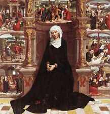 Metal Sign Isenbrant Adriaen Our Lady Of The Seven Sorrows A4 12x8 Aluminium