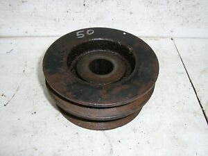 """Toro Wheel Horse 724-Z  113524  Center Arbor Spindle Pulley  50""""  Deck 78445"""