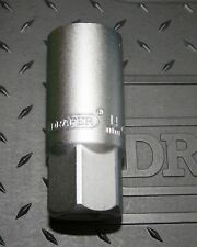 "DRAPER  14MM SPARK PLUG SOCKET  SATIN CHROME VANADIUM  1/2"" SQUARE DRIVE"
