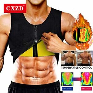 Sweat Sauna Vest Shaper Body Neoprene Waist Men Trainer Women Us Slimming