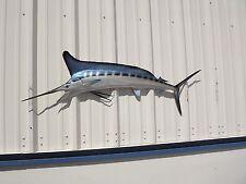 """58"""" White Marlin Half Mount Fish Replica"""