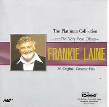 FRANKIE LAINE The Platinum Collection The Very Best Of 26 Original Hits HDCD APS