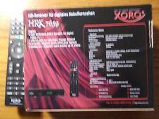 Receiver XORO DVB-C mit Garantie