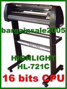 HIGHLIGHT HL721C VINYL SIGN PLOTTER CUTTER Cutting WIN 10 / 8 / 7 240V