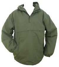 Olive Green Hooded Anorak All Sizes Field Jacket Smock Coat Army Military Fleece