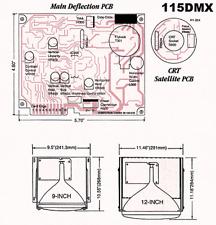 Computron 115DMX Monochrome CRT Driver Board