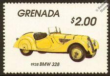 1938 BMW 328 Car Automobile Mint Stamp