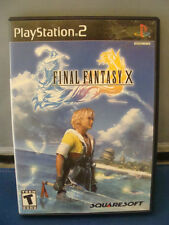 Final Fantasy X COMPLETE Game PS2 Play Station 2