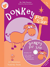 Donkey For Sale Learn to Play Pop PIANO Guitar PVG Music Teachers Book CD