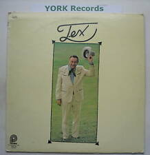 TEX RITTER - Tex - Excellent Condition LP Record