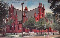 INDIANAPOLIS INDIANA TABERNACLE PRESBYTERIAN CHURCH POSTCARD 1910s