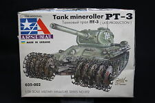 XS005 ARSENAL 1/35 maquette tank char 035-002 Tank Mineroller PT-3 serie mine