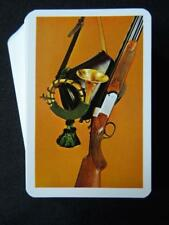 Vintage Playing Cards 1970s Pack Deck Piatnik Hunting Rifle Horn