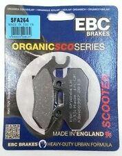 LAMBRETTA LN151 (2011 to 2013) EBC organica Pastiglie Freno a disco anteriore