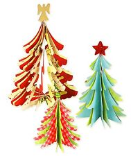 Sizzix Bigz 3D Christmas Trees die #658754 Retail $19.99 THREE DIFFERENT SIZES!!