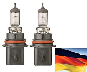 Flosser Rally 9004 HB1 100/80W 9104 Two Bulbs Head Light Dual Beam Replacement