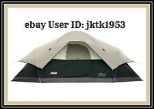 Coleman Red Canyon 8-Person Tent  17' x 10' SIX Feet Center with Privacy Walls