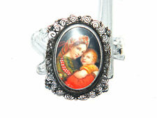 Napoleonic Army MICRO PAINTING BROOCH Pendant w/ Silver Frame, ca.1790