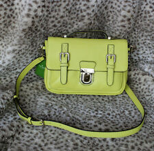 NwT KATE SPADE LOLA AVENUE LIA  Leather Crossbody Satchel Tote handbag yellow