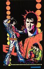 1970s Elvis Presley black light poster replica magnet - new!