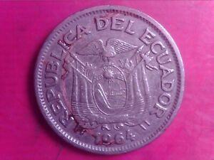 ECUADOR   UN  SUCRE    1964    MAY09