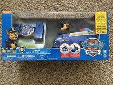 Paw Patrol RADIO CONTROL R/C Chase PATROL CRUISER - Spins Wheelies 6 Way Control