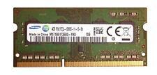 Samsung 4GB DDR3 Portátil SO-DIMM de memoria 204pin PC2-12800S 1600MHz (M471B5773DH0)