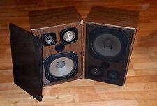 Westra ST 110 Bassreflex Klangboxen 2 Stück 70-er Chic !! ( gebraucht )