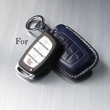 Handmade Leather Smart car Remote Key case Holder/Hyundai Avante,Tucson,i40/ Fob
