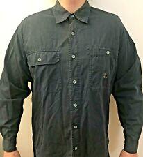 Chemise Celvin Klein Jeans pour homme L/40 Bleu denim vintage manches longues
