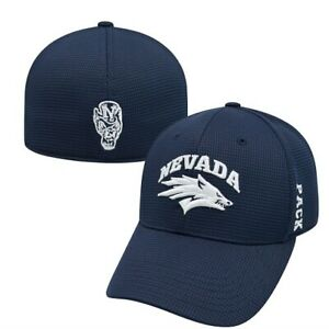 """Nevada Wolfpack NCAA TOW """"Booster"""" Memory Fitted Hat"""