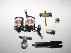 PROFESSIONAL tattoo machine rebuild kit with 28mm shorty coils