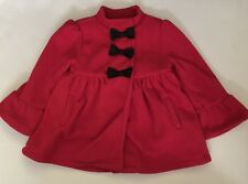 Baby Headquarters Coat Size 24 Months Red So Cute! EUC