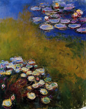 Claude Monet Water Lilies #1 Print 11 x 14    #3384