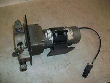 MIG Welder Power Wire Feed w/ Statuce Electric Motor 115vdc