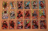 Lego Star Wars Serie 1 limitierte Karten LE1 - LE24 + Gold Karten aussuchen