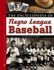The Encyclopedia of Negro League Baseball (Facts on File Sports Librar-ExLibrary