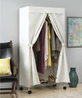 """36"""" W Garment Clothing Rack Cover Canvas"""