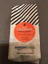 Fresh Decaf Colombia Ground Coffee, Medium Roast, 12 Ounce Expires 03/2021