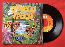 David Martial Bamboo Tabou Cbs3437 VG Vinyl 45t Sp
