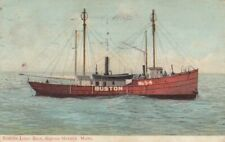 Boston LIGHTSHIP , BOSTON , Mass. , 1908
