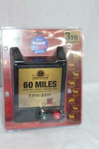 American Farmworks 60 Miles Electric Fence Controller - AC Powered   NEW!