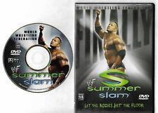 WWF WWE SUMMERSLAM 2001 RARE R1