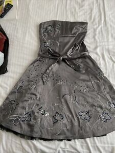 Women's Jane Norman Size12 Strapless Dress Xmas Night Out Special BNWT
