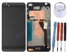 ECRAN LCD + VITRE TACTILE SUR CHASSIS BLOC COMPLETE POUR HTC DESIRE 820 NOIR