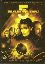 Babylon 5 Complete Season 5 DVD 6 Disc Set Boxed Set Region 1 NTSC