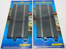 2 x C8205 scalextric standard droite 350mm 1:32 scale slot car racing (4pcs)