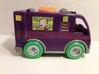 Fisher Price Imaginext DC Comics Batman The Joker Truck Van Vehicle 2008